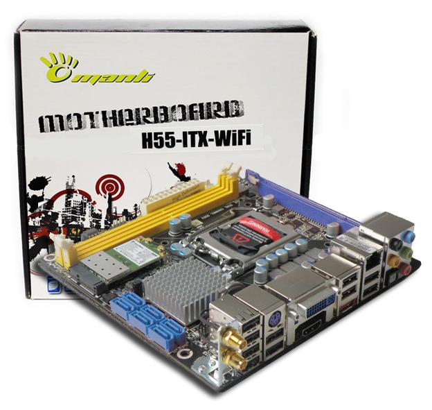 MANLI M-H55D3WF-I | ONLINE MOTHERBOARDS buy low price in online shop