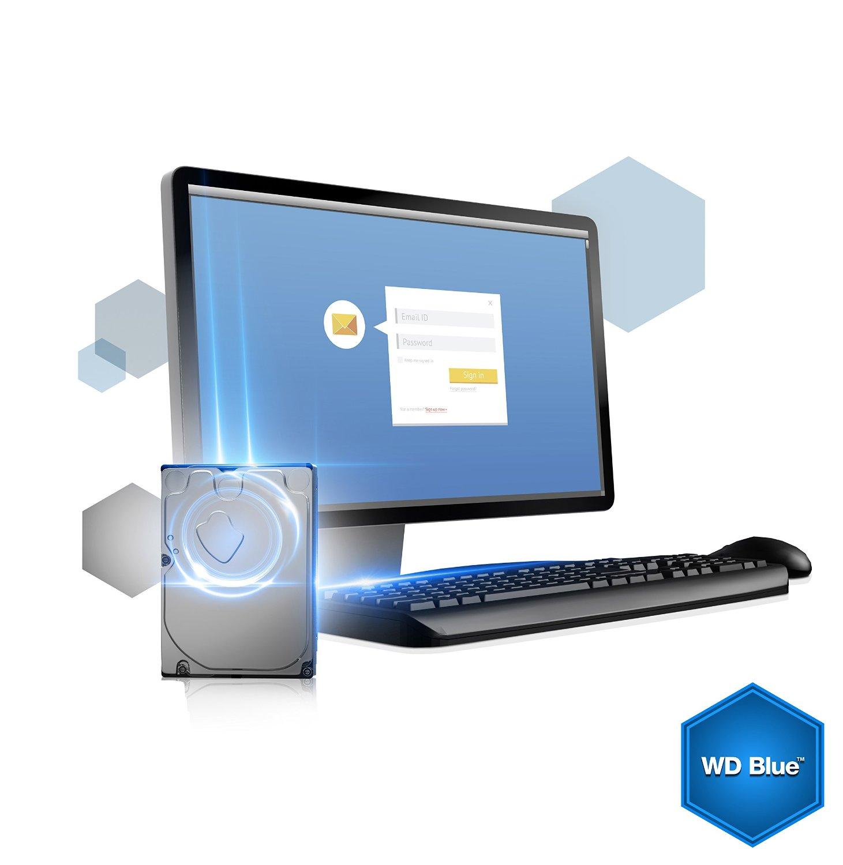 WD Blue 6TB Desktop Hard Disk Drive - 5400 RPM SATA 6 Gb/s 64MB Cache 3 5  Inch