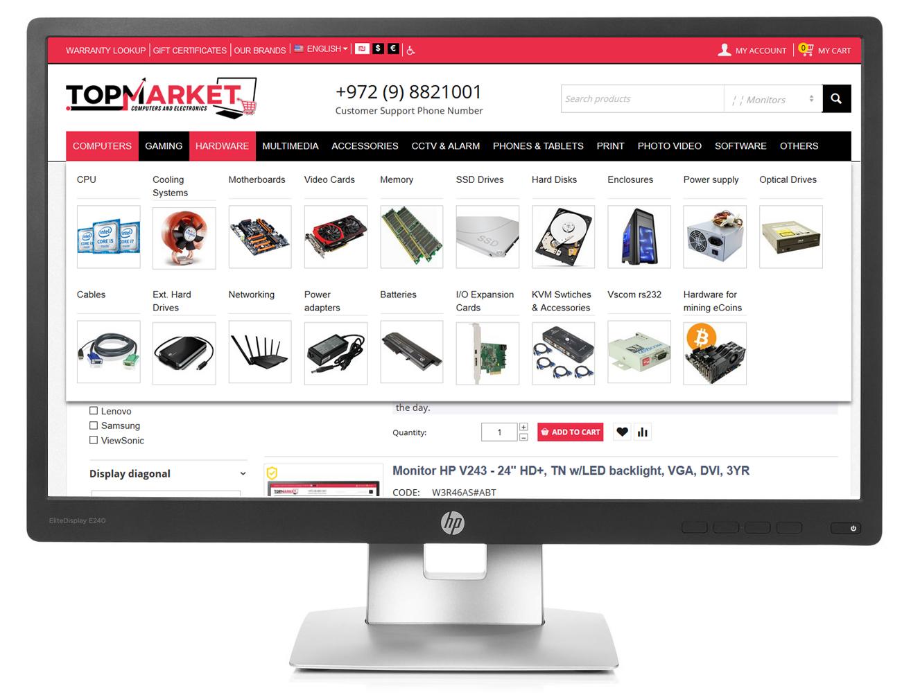 HP M1N99AS#ABT | ONLINE MONITORS buy low price in online