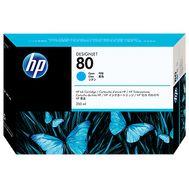 HP 80, Cyan, 350-ml,