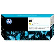 HP 81, Yellow,