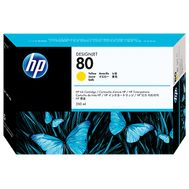 HP 80, Yellow,