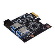 BIOSTAR PCIe X1 USB