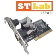 DB9Pin 2 Ports Serial PCI Card