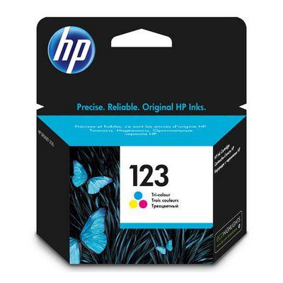 HP 123, Tri-color,