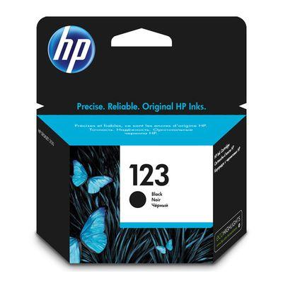 HP 123, Black,