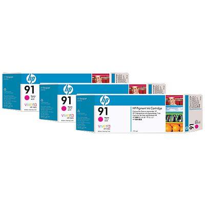 HP 91, 3-pack,