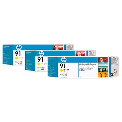 HP 91, 3-pack,
