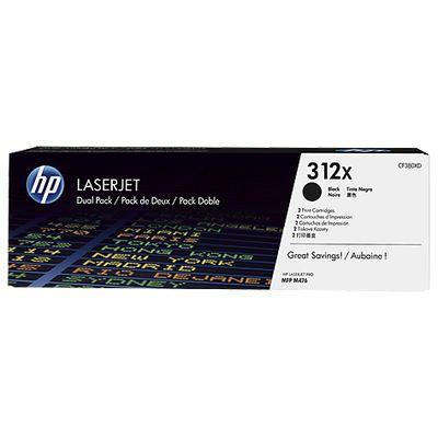 HP 312X, 2-pack,