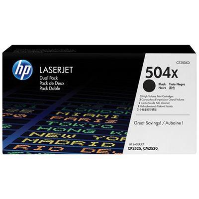 HP 504X, 2-pack,