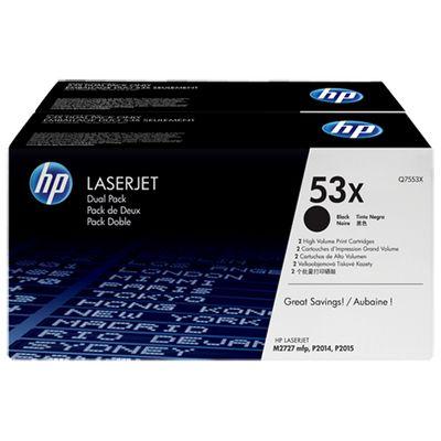 HP 53X, 2-pack, High