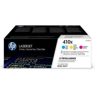 HP 410X, 3-pack,